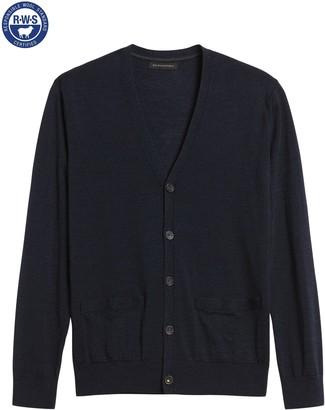 Banana Republic Merino Cardigan Sweater in Responsible Wool