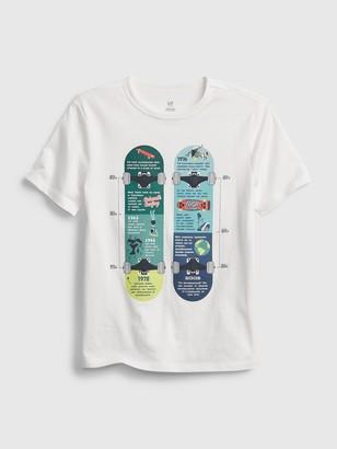 Gap Kids Organic Cotton Graphic T-Shirt