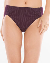 Soma Intimates Cotton/Modal with Lace High Leg