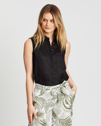 Sportscraft Daisy Sleeveless Shirt