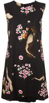 Moschino burned effect floral dress - women - Acetate/Rayon - 42