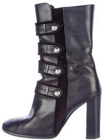 Isabel Marant Leather Arnie Brandebourg Ankle Boots