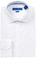 Vince Camuto Paisley Trim Fit Dress Shirt