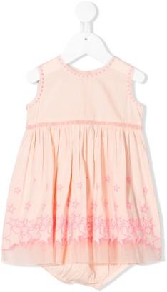 Stella McCartney Embroidered Organic Cotton Dress