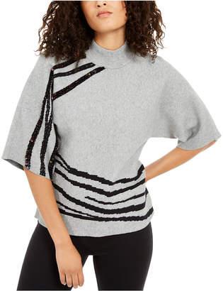Alfani Embellished Kimono Sweater