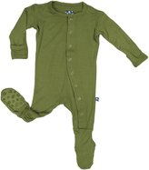 Kickee Pants Footies with Paws - Pond-18-24 M