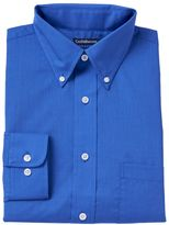 Croft & Barrow Men's Fitted Solid Broadcloth Button-Down Collar Dress Shirt
