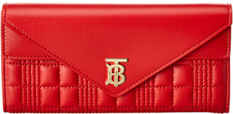 Burberry Monogram Quilted Leather Continental Wallet