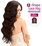 Born Free New Human Hair Blend Lace Front Wig Magic Lace U-Shape Lace Wig MLUH94 (1)