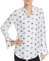 Equipment Rossi Star Print Silk Shirt