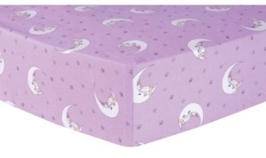 Trend Lab Unicorn Moon Flannel Crib Sheet Bedding