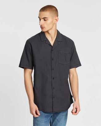 Silent Theory Breeze Linen SS Shirt