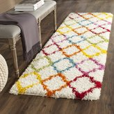 Zoomie Kids Sasha Rainbow Kids Area Rug Rug