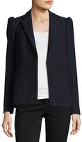 Rebecca Taylor Slub Suiting Jacket, Navy