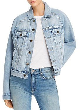 Pistola Denim Hayden Raglan-Sleeve Denim Jacket