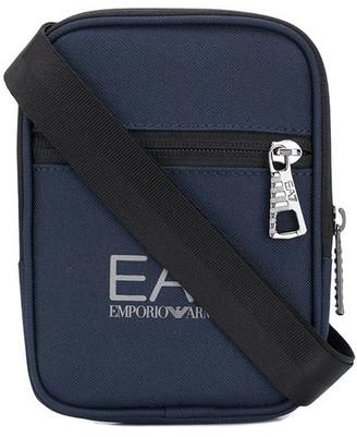 Emporio Armani Ea7 logo print wallet bag
