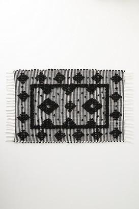 Anthropologie Textured Cressida Bath Mat By in Black Size S