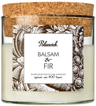 Bluewick Home & Body Co. Home Fragrance 12.5Oz Cork Tumbler Fall Edition Balsam Fir Candle