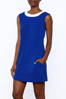 Aryeh Royal Blue Sleeveless Dress