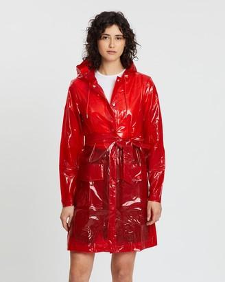 Rains Transparent Belt Jacket