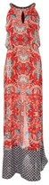 Rene Derhy Printed Maxi Dress