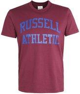 Russell Athletic Print Tshirt Bordeaux
