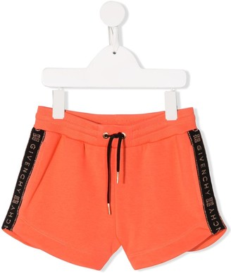 Givenchy Kids Side Logo Shorts