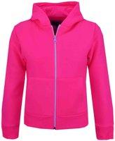 A2Z 4 Kids® Kids Girls & Boys Plain Fleece Hoodie Zip Up Style Zipper Jacket Age 5-13 Years