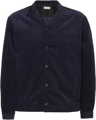 Camoshita Open Collar Cotton-Corduroy Overshirt