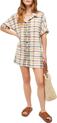 Free People Felicity Check Romper