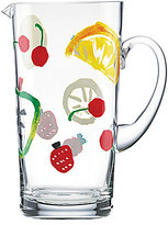 Kate Spade All in Good Taste Pretty Pantry Glass Pitcher