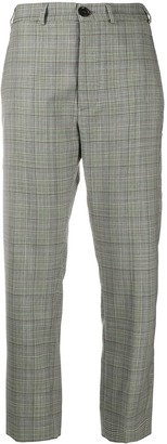 Vivienne Westwood Check Cropped Trousers