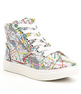 Steve Madden Girls J-Sequel Hi-Top Sneakers