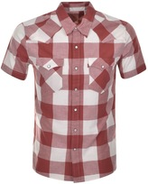 Levi's Levis Check Western Shirt Red