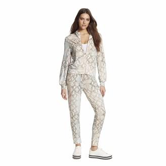 Skinnygirl Jeans Women's Pauly Funnel Neck Zip Up Jacket