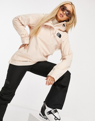 The North Face Tanager ski jacket in white