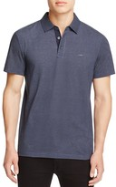Michael Kors Dot Print Slim Fit Polo Shirt