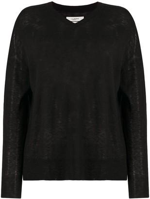 Etoile Isabel Marant Fine-Knit V-Neck Jumper