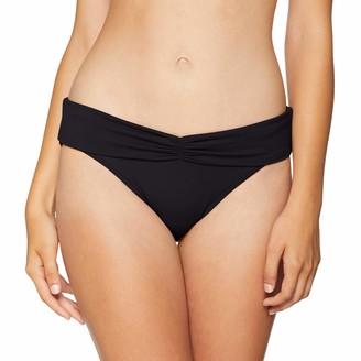 Seafolly Women's V Band Retro Full Coverage Bikini Bottom Swimsuit