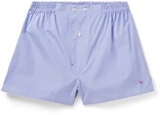Isaia Cotton Boxer Shorts