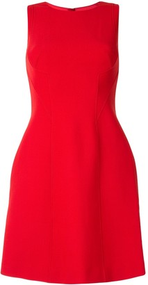 Paule Ka Bib Detailed Mini Dress