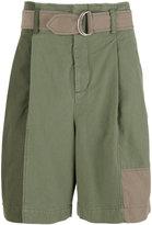 3.1 Phillip Lim oversized patchwork shorts