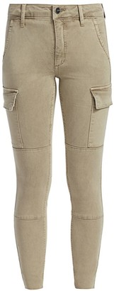 Joe's Jeans Charlie High-Rise Cargo Ankle Skinny Jeans