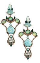 Lionette by Noa Sade Women's 'Bahia' Simulated Opal & Swarovski Crystal Chandelier Earrings