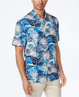 Tommy Bahama Men's Blossom Sockem Floral-Print Silk Shirt