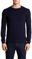 Ted Baker Reverse Jacquard Long Sleeve Crew Neck Sweater