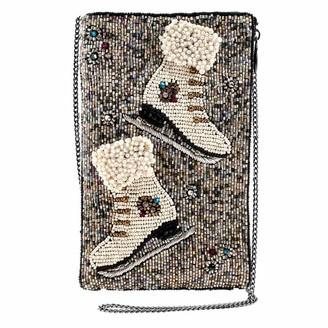 Mary Frances Cheap Skate Beaded Crossbody Phone Bag