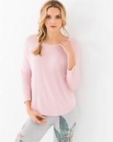 Soma Intimates Wild Spirits Cotton Blend Long Sleeve T-Shirt