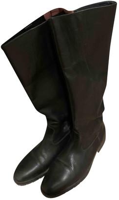 Comptoir des Cotonniers Black Leather Boots