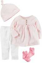 Carter's Baby Girl Babysoft Take-Me-Home Top